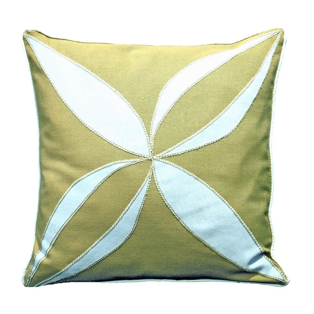 Image of Tea on the Veranda Decorative Pillow Cover or Kit, Jim Thompson Fabric