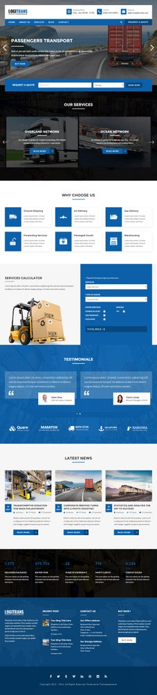 Image of Website Templates 2015 Free Download