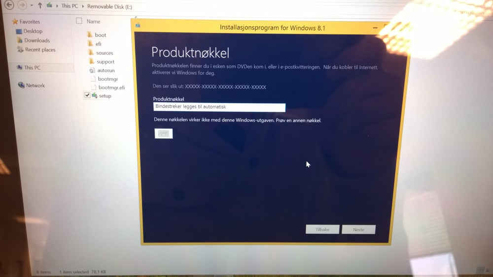 Image of Windows Download Using Product Key