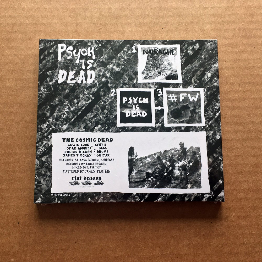 THE COSMIC DEAD 'Psych Is Dead' CD (Digipack)