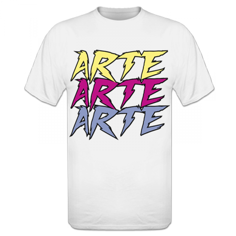 Image of T-SHIRT A-ART WHITE
