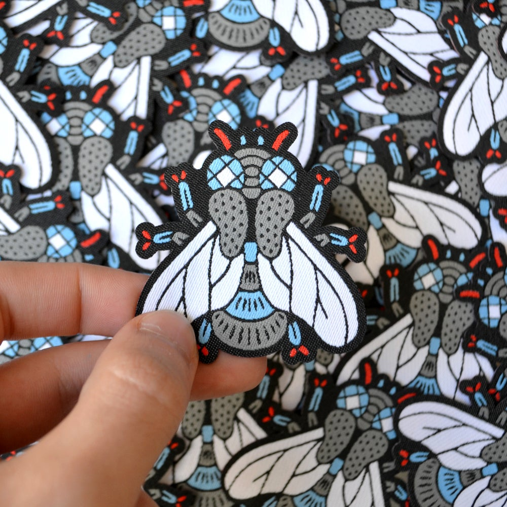 Image of MOUCHE WOVEN PATCH