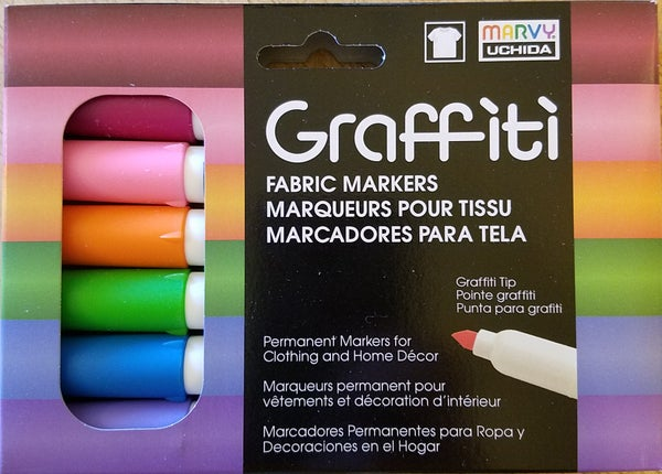 Image of Graffiti Fabric Markers