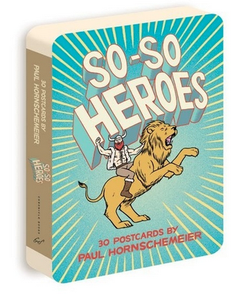 Image of SIGNED So-So Heroes Postcard Book