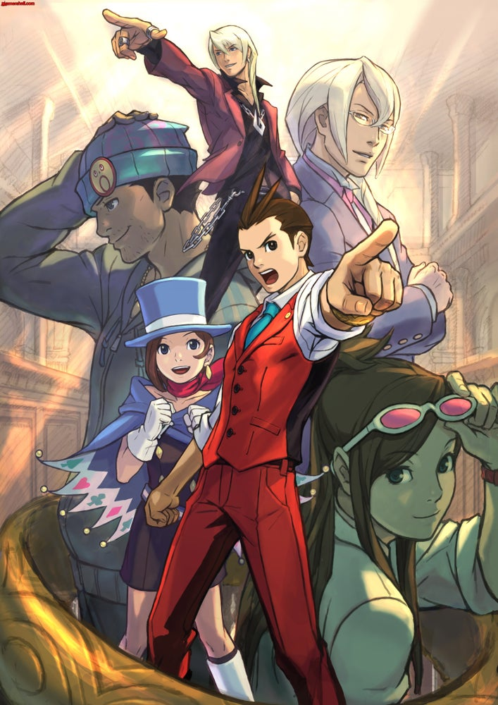 Image of The Art Of Phoenix Wright Ace Attorney Download