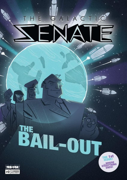 Image of The Galactic Senate Comic #0