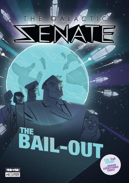 Image of The Galactic Senate Comic #0