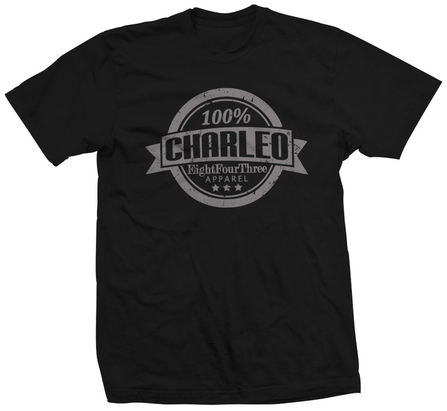 Image of The 100% Charleo Tee (CLICK FOR MORE COLORS!!!)