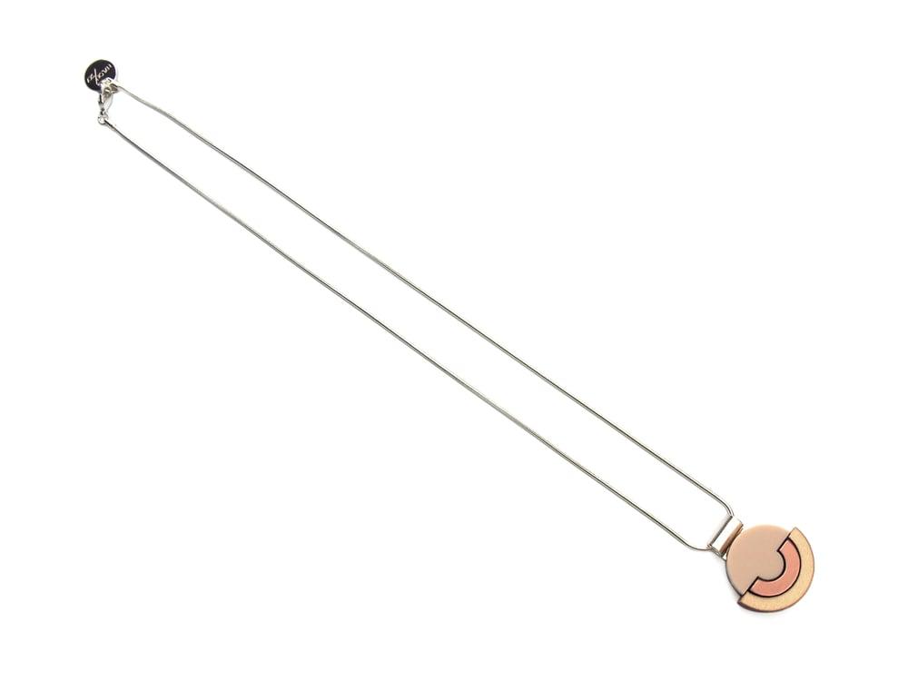 Image of Contour Necklace - Rose