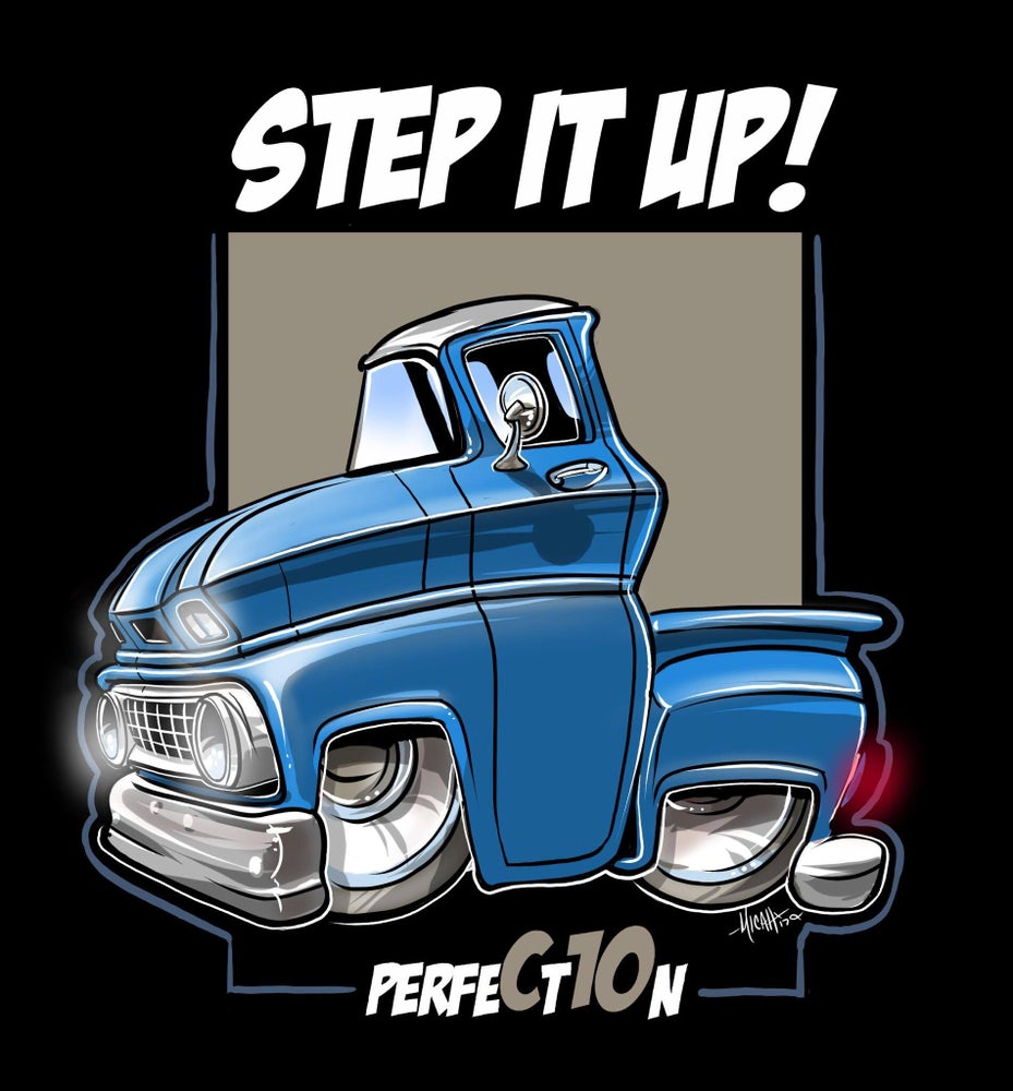 Image of STEP IT UP (BLUE)