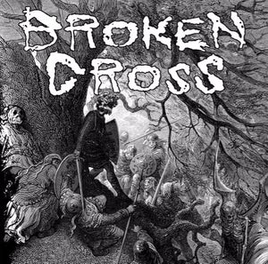 "Image of BROKEN CROSS / VEGAS split 7"""
