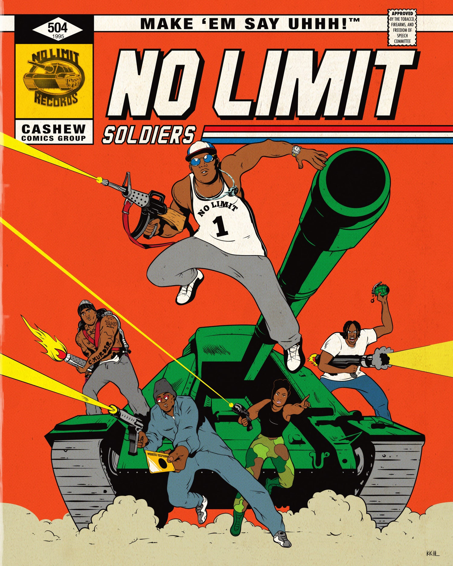 Image of NO LIMIT SOLDIERS (PRINT)