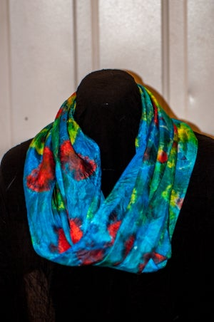 Image of Dye Your Own Silk Scarf Workshop