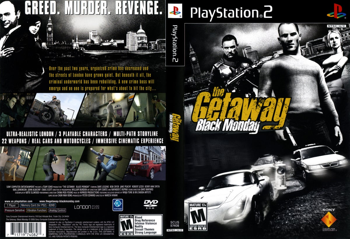 The getaway game pc download.