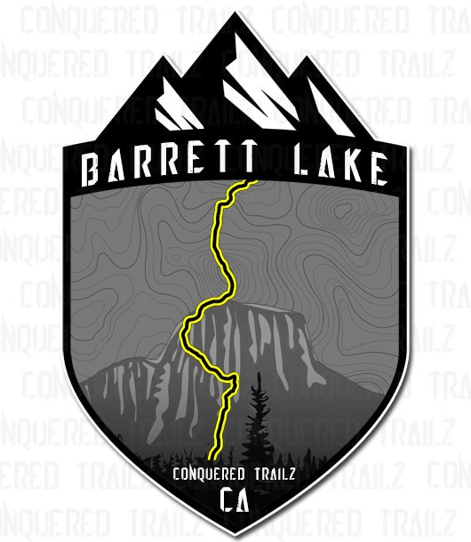 "Image of ""Barrett Lake"" Trail Badge"