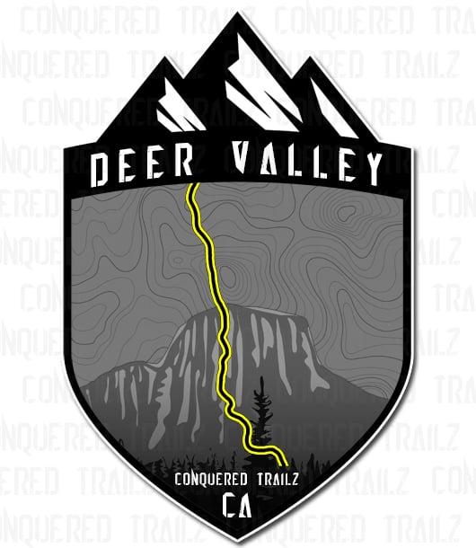"""Image of """"Deer Valley"""" Trail Badge"""