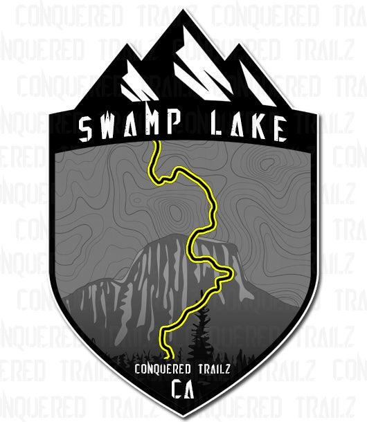 "Image of ""Swamp Lake"" Trail Badge"