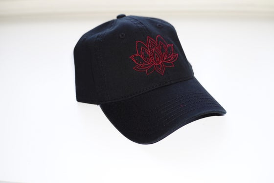 Image of Lotus Flower Dad Hat 2a25073c0c40