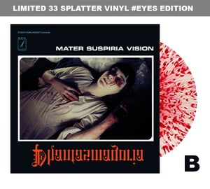 Image of LIMITED 33 SPLATTER VINYL Mater Suspiria Vision PHANTASMAGORIA Design B EYES