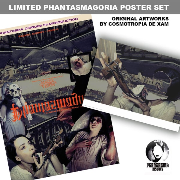 Image of Limited Mater Suspiria Vision PHANTASMAGORIA Poster Set (Rolled) + DIGITAL ALBUM