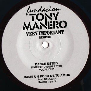 "Image of Fundacion Tony Manero ""Very Important Remixes"""