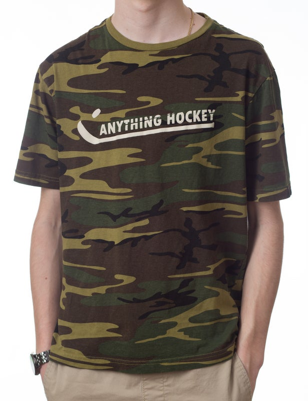 Image of Anything Hockey Camo t-shirt