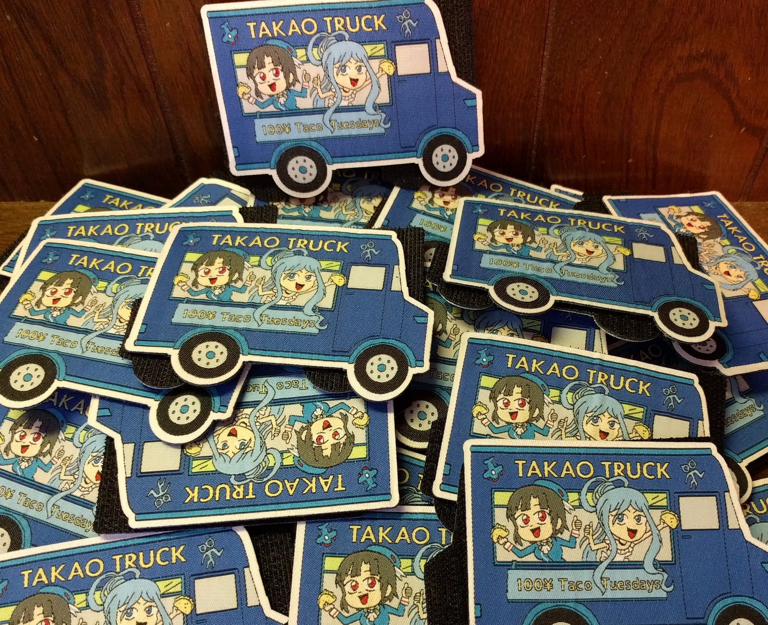 Takao Truck (Blue variant)