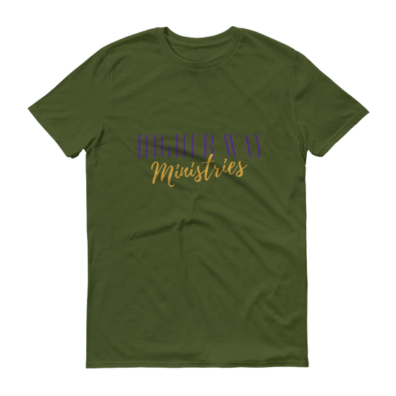 Image of Higher Way Ministries (HWM) Tee City Green