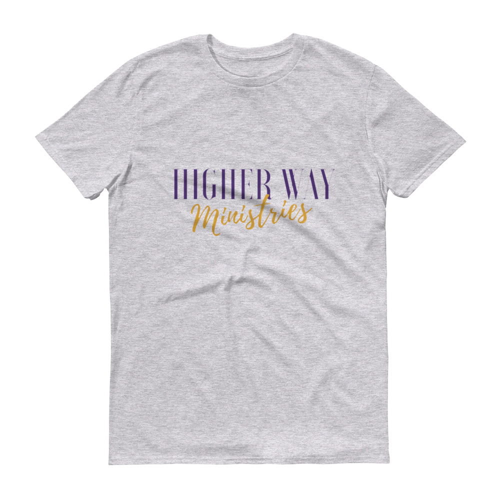 Image of Higher Way Ministries (HWM) Tee Heather Grey
