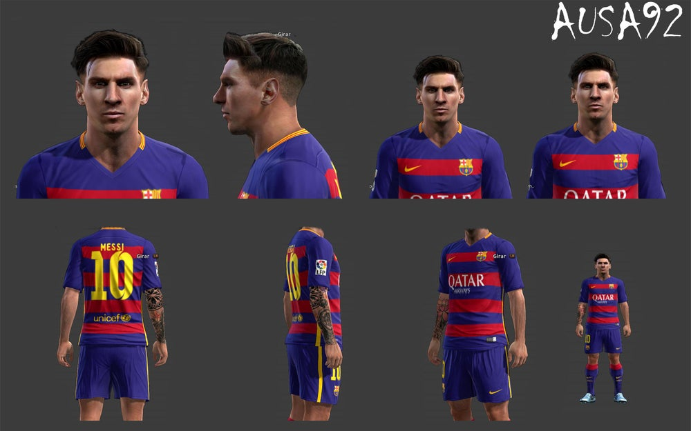 Image of Download Face Neymar Pes 06