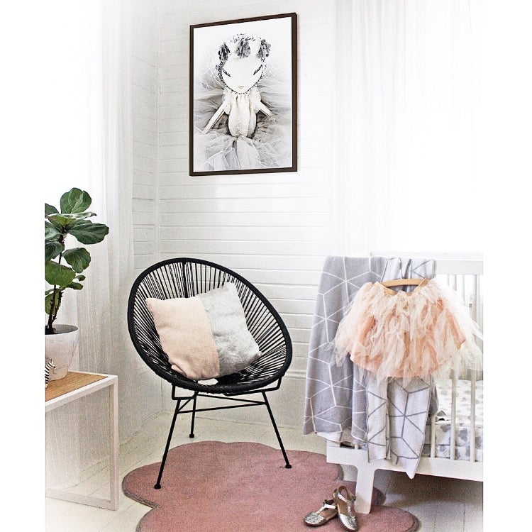 Image of DOLL DéCOR // WALL ART - Maven Helena