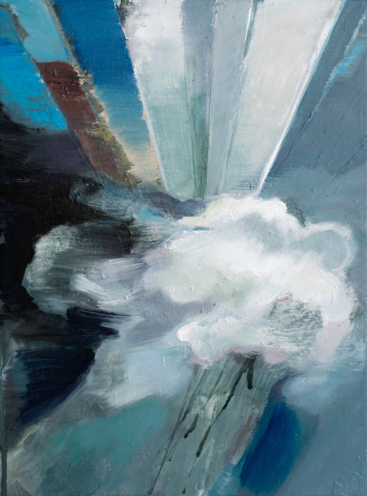 Image of Painting / maleri / 31x42 cm