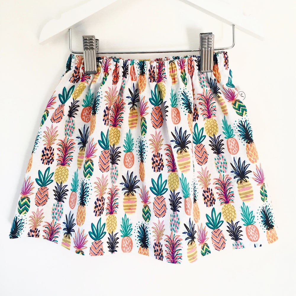 Image of Pineapple Party Skirt