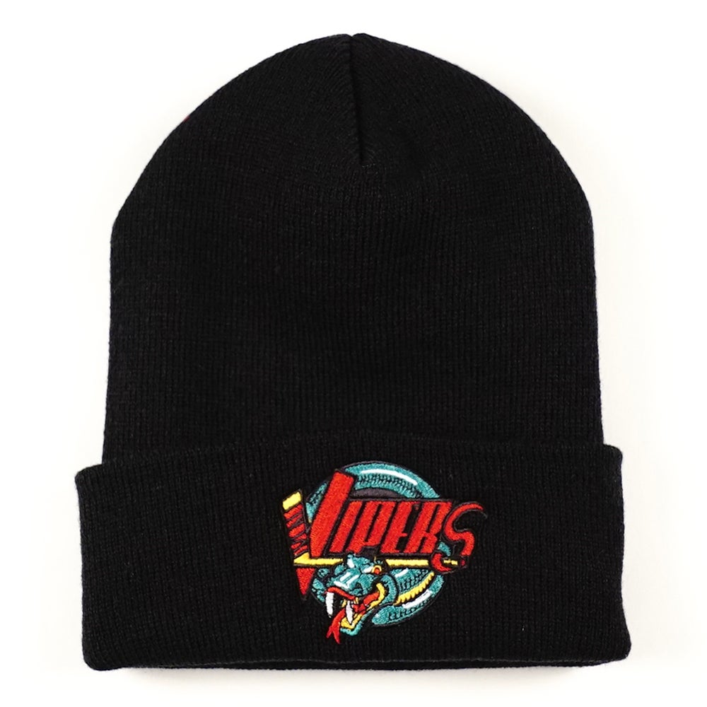 Image of Detroit Vipers Black Beanie