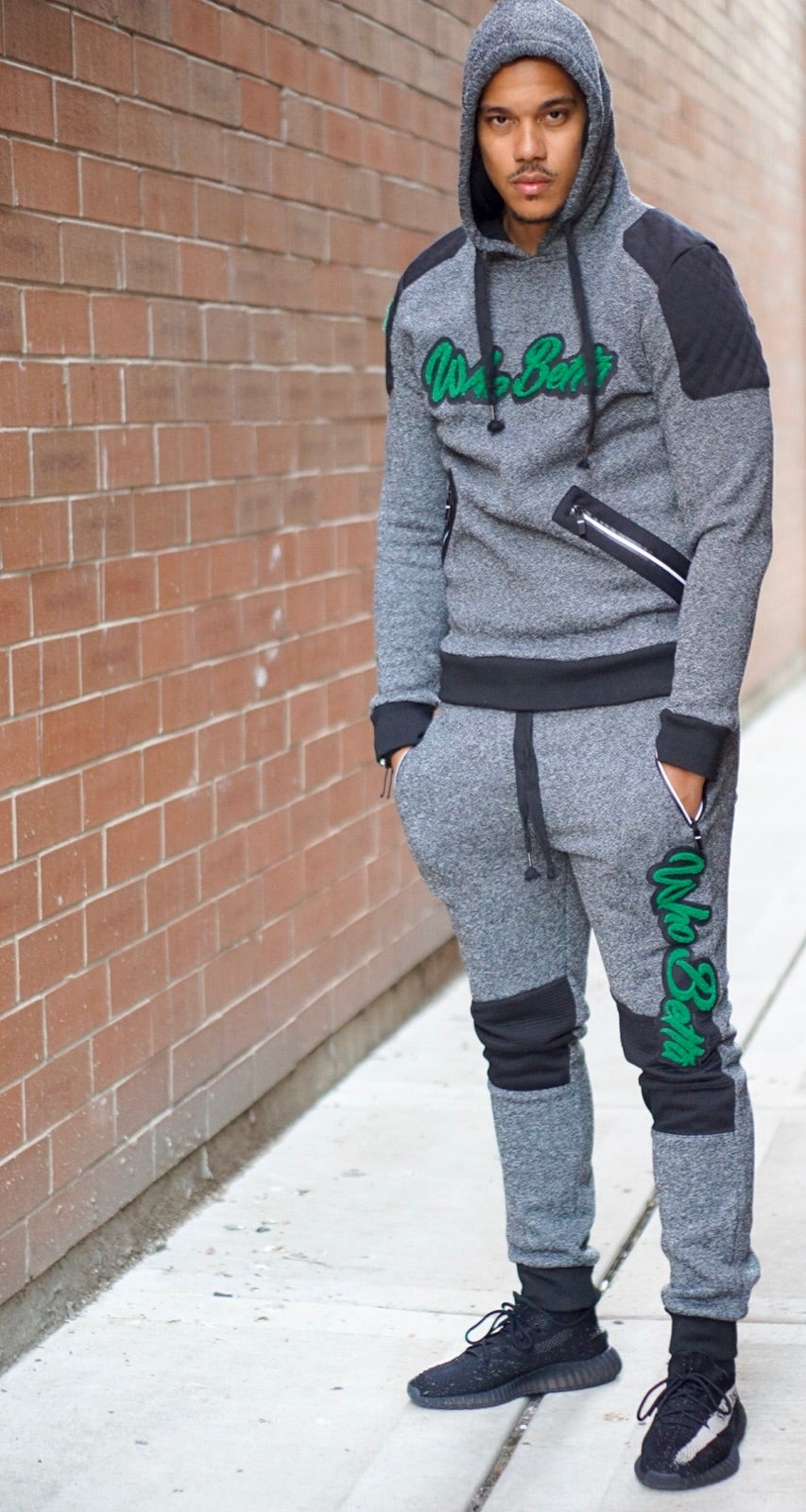 Image of Who Betta Classic Jogging Suit