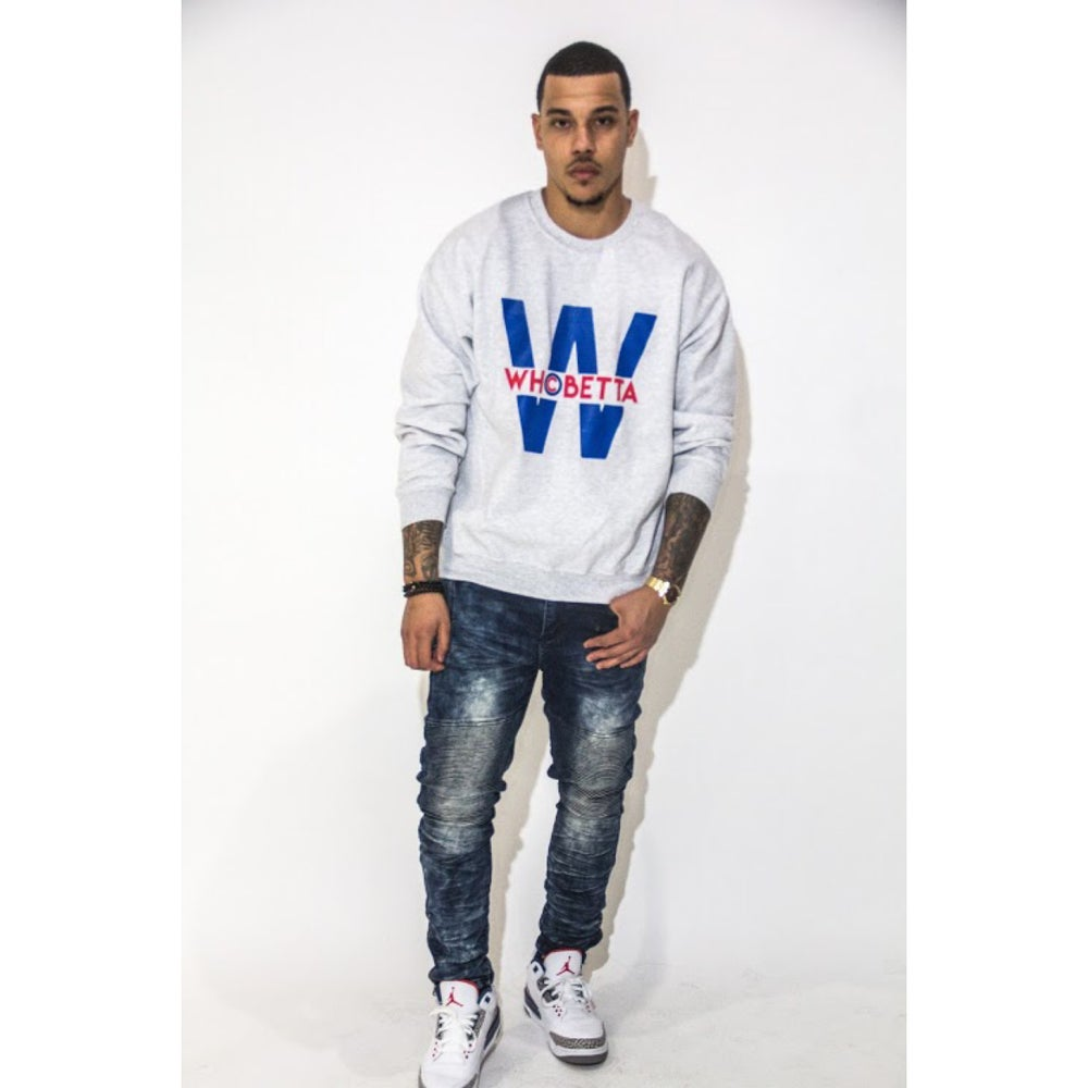 Image of Who Betta Cubs Inspired Crewneck