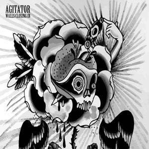 Image of AGITATOR - Walls Closing In 7""
