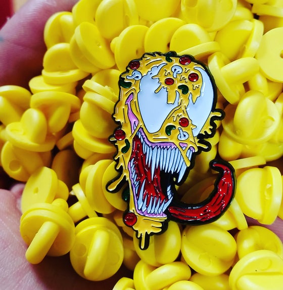 Image of VENOMOUS SLICE 1.25 INCH PIN