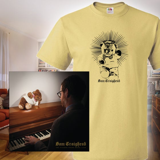 Image of Sam Craighead - The Tuesday Night Music Club LP + Shirt Bundle