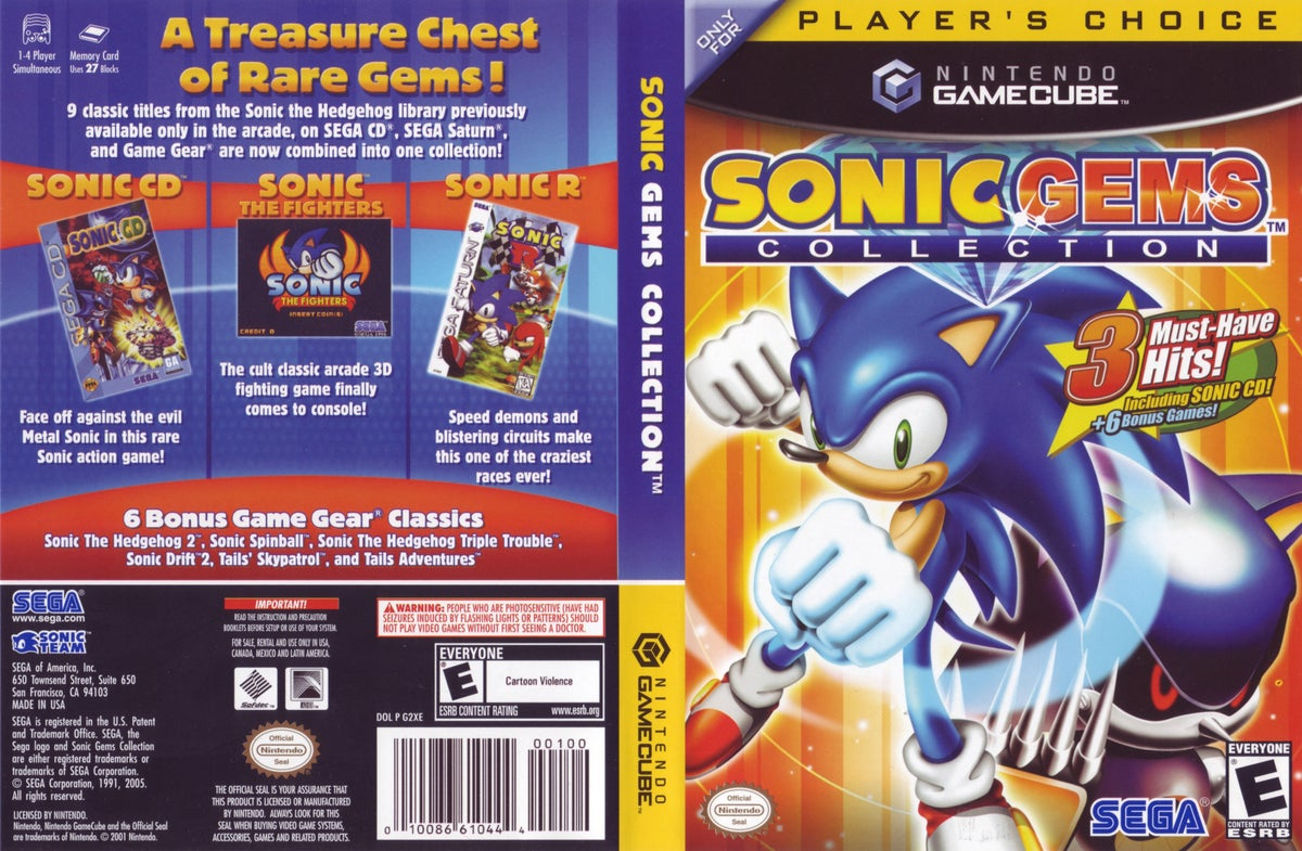 Thumbhasy Sonic Mega Collection Rom Download