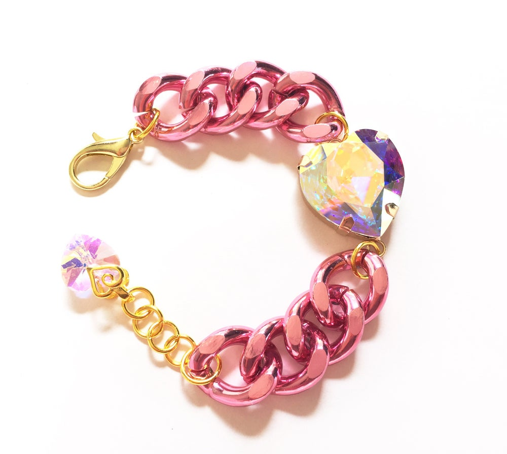 Image of Glamazon Heart Bracelet