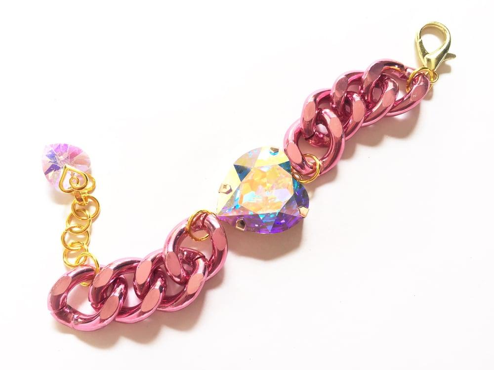 Image of Glamazon Heart Bracelet