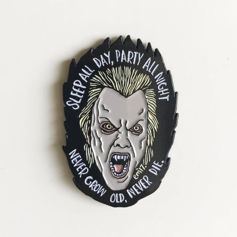 Image of David Vamp Enamel pin