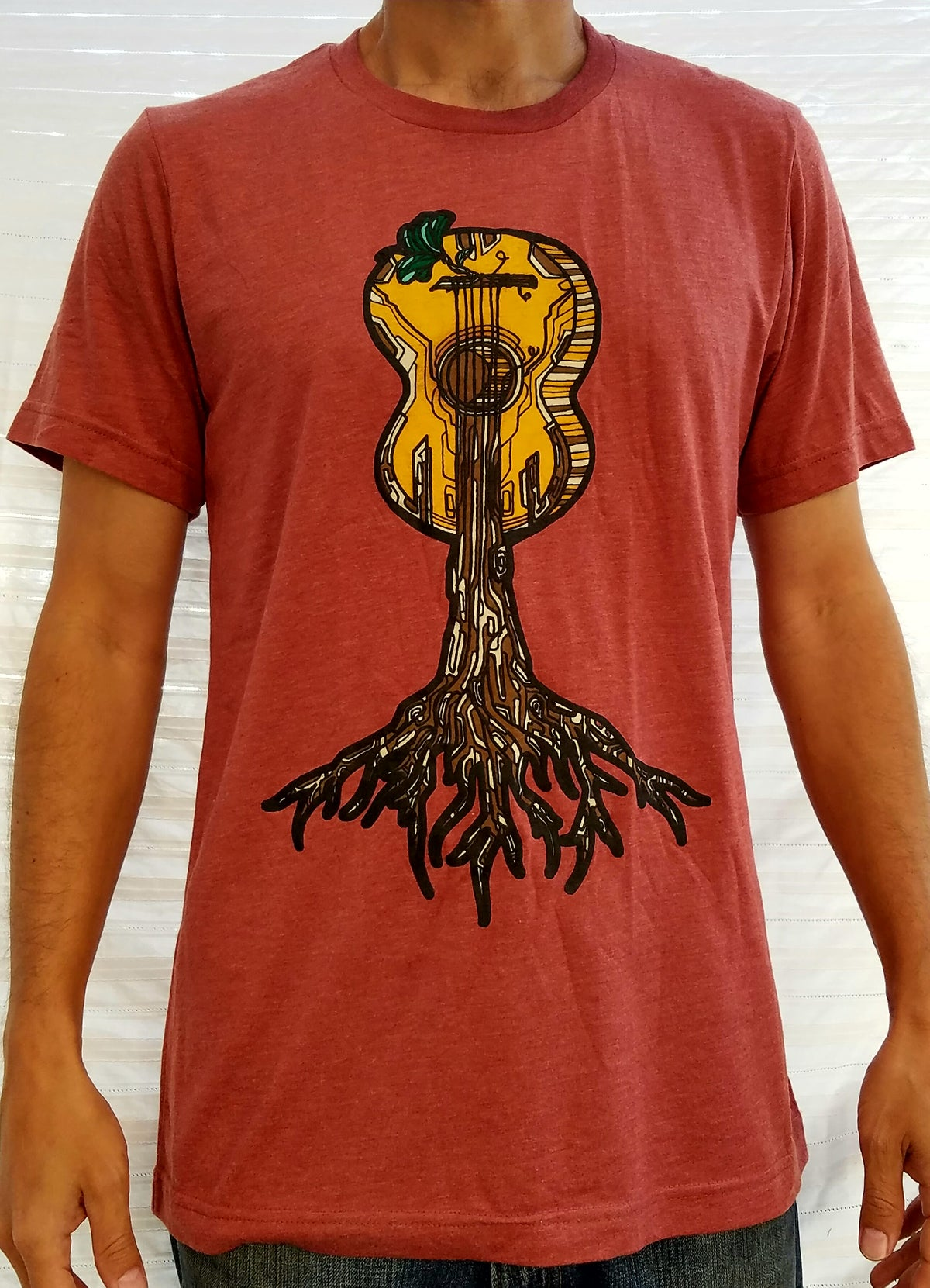 Image of Roots Guitar T-Shirt