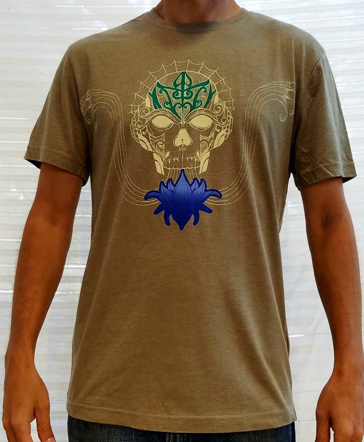 Image of Skull Lotus T-shirt