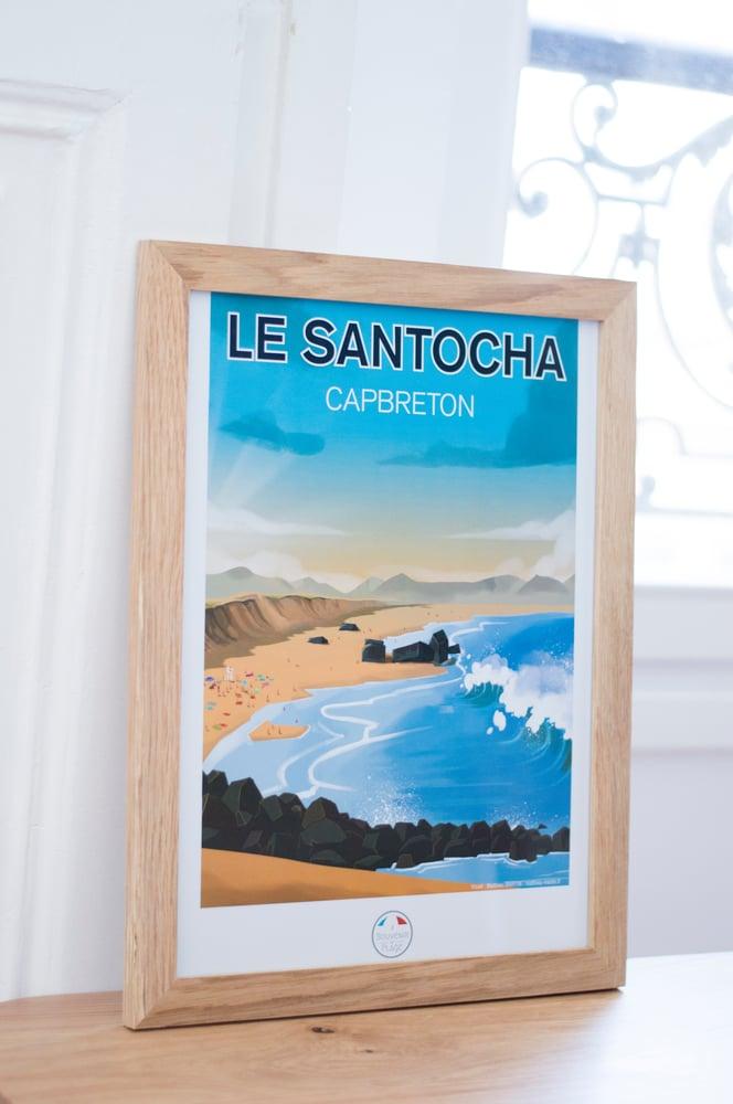 Image of Le Santocha - Capbreton - Poster
