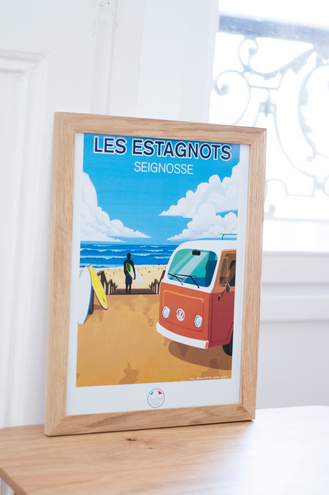 Image of Les Estagnots - Seignosse - Poster