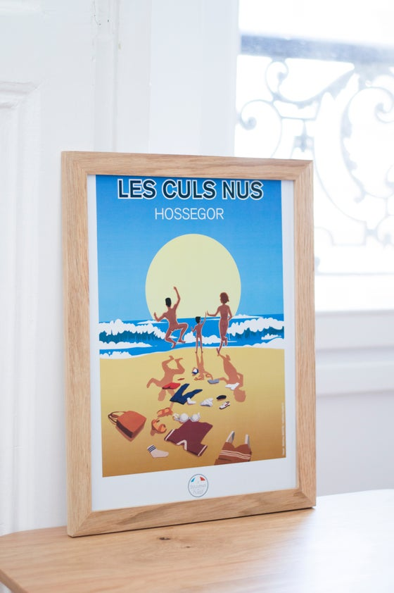 Image of Les Culs Nus - Hossegor - Poster