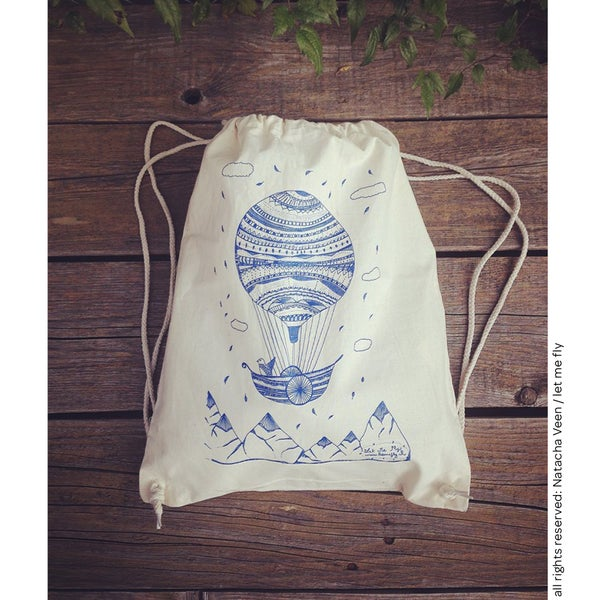 Image of Gym bag *hot air ballon*