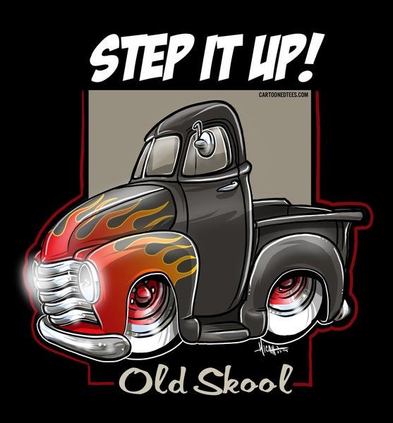 Image of STEP IT UP OLD SCHOOL FLAMES